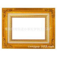 曹县木质工艺品厂家直供优质原色实木相框 定做创意照片墙相框