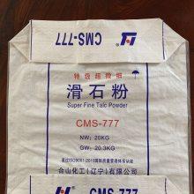 印刷机(印字和图案等)→切袋机放袋架(.把塑料编织筒布切成一条条袋子)