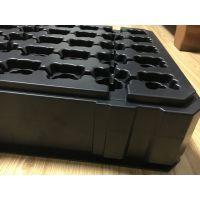 吸塑厚片PS塑料包装制品零件托盘白色工业塑料盒包装利用托盘
