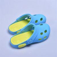 柔软硅胶凉鞋 儿童防滑洞洞鞋 不割脚儿童凉鞋