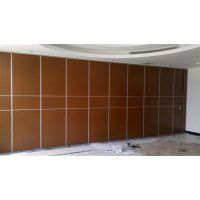 云南酒楼宴会厅会议室活动隔断屏风移动折叠门质优价平厂家