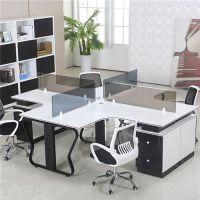 屏风办公桌安装、新洲屏风办公桌、木缘森办公家具