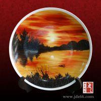 建军节纪念盘摆件 八一建军节纪念品 唐龙陶瓷定做陶瓷纪念盘