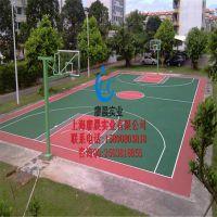 六安廖晨塑胶篮球场基础价格