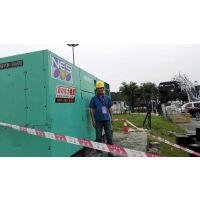海口发电机出租二十四小时为客户提供不同型号设备和功率机组380KW劳斯莱斯发电机组