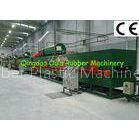 Thickness 6-50 mm Rubber Sheet Making Machine Closed Cell With Natural Gas Heating