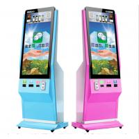 熙雅盟42寸立式/斜面式微信照片打印机 手机照片打印机 投币微信广告机