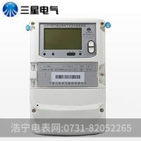 三相三线超稳定宁波三星DSSD188电子式3x100V多功能电能表