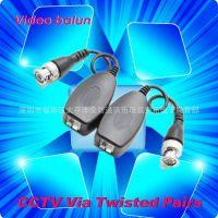 供应网络视频双绞线传输器 带防雷型视频传输器 监控视频传输器