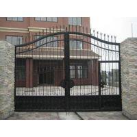 天津向前铁艺加工厂家,铁艺大门,铁艺围栏定做安装