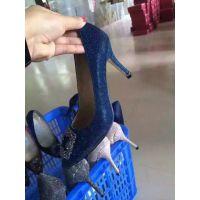 加工定制高端女装皮鞋 真皮外贸高跟鞋厂