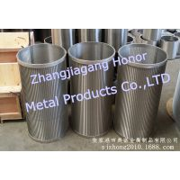 厂家供应精密不锈钢筛管 用于水过滤及医用设备
