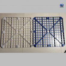 网格填料检测标准 PP650方孔网格板 污水塔填料投标文件 河北华强