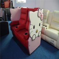 (赤虎)奢华设计品牌影院布艺情侣沙发