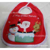 深圳厂家定做 批发婴儿口水巾 全棉 婴儿围嘴