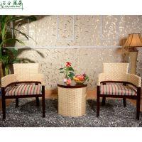 供应藤椅 客厅休闲藤椅三件套 厂家直销椅子