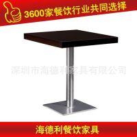 新款上市 美式实木桌子 豪华酒店餐厅白色实木餐桌