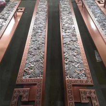 精装铝板新款雕刻壁画 工艺铝板雕刻厂家 欢迎来来电咨询