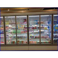 佳伯品牌进口超市低温奶柜 景德镇风冷酸奶展示冰柜 鲜奶保鲜风幕柜
