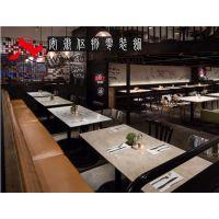 合肥牛排店装修牛排馆设计餐厅装修打造质朴的用餐环境