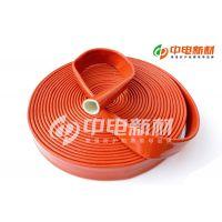 红色耐高温电缆保护防护阻燃防静电护套反辐射热套管