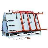 XT-2512门窗组合机  订做液压单带孔,可调尺寸的门窗组合机