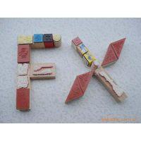 供应木头印章,木头橡胶,益智印章