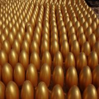 2015湖北石膏金蛋批发价格哪家给力 庆典石膏金蛋生产厂家