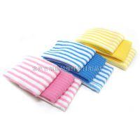 超细纤维厂家 常熟福瑞 大量供应经编超细纤维阳离子彩条毛巾布