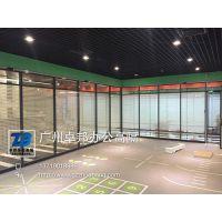 供应新款内钢外铝办公室屏风玻璃高隔断