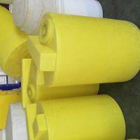 加厚款耐酸碱 60升至1000升塑料加药箱 带盖密封塑料水箱 圆柱形塑料桶