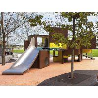 牧童厂家直销不锈钢滑梯定做、户外幼儿园滑梯、不锈钢滑梯加长、质量保证