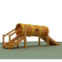 供应幼儿园室外木制组合滑梯 儿童木制滑滑梯 生产厂家