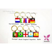 Brazil Word Cup Souvenir Handwork Key Buckle/ Key Chain  For England / France /Italy / Argentina  / Germany