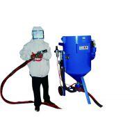 广州除锈加压式喷砂机 移动开放式喷砂机表面处理