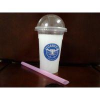 哈尔滨塑料奶茶杯pp冷饮果汁塑料杯订做