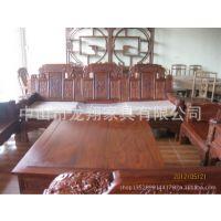 沙发厂家 专业制造 红木家具 浮雕实木沙发