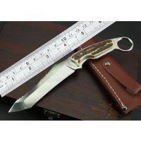 工厂定做出口高档战术精品刀户外野营刀具收藏观赏刀具
