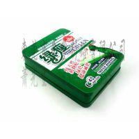 绿色药品包装铁盒,健康药丸铁盒,马口铁药品包装铁盒