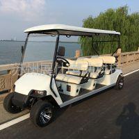 泰州电动看房车 景区观光车 6座高尔夫球车价格