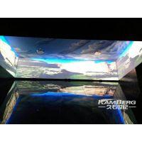 康博弧幕环幕曲面异形投影机融合器/纯硬件融合机自主研发