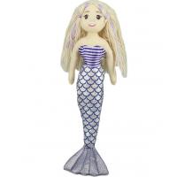 美人鱼公仔毛绒玩具美人鱼公主玩具玩偶娃娃厂家