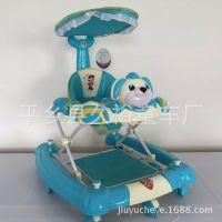 幼儿高档助步车多功能可折叠防侧翻溜溜车儿童学步车滑行玩具