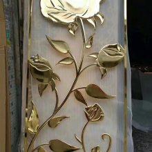 贵州不锈钢真空电镀钛金门框订做 非标门框设计 大量不锈钢制品