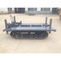 徐州中地钻机ZD-1100专用橡胶 农用机械履带底盘 平台(液压调平)