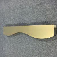 供应欧佰品牌香槟金弧形铝方通,型材铝方通