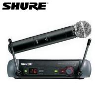 Shure/舒尔 PGX24/SM58 专业手持无线话筒麦克风卡拉OK会议话筒