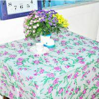 一次性桌布 塑料 印花防水桌布 餐厅专用一次性台布