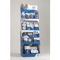 【厂家直销】纸质促销展架加强纸板广告货柜零食纸货架