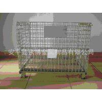 四柱网仓储笼 移动仓储笼 物流仓储笼 折叠式仓储笼